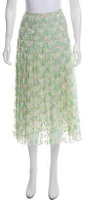 Christopher Kane Fluted Lace Skirt w/ Tags