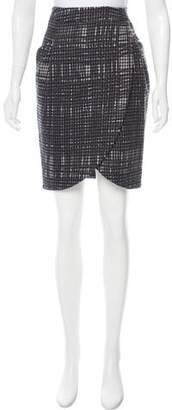 Hanii Y Houndstooth Knee-Length Skirt