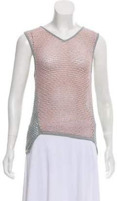 Helmut Lang Sleeveless Knitted Top