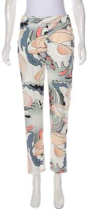 MM6 MAISON MARGIELA Printed Mid-Rise Pants