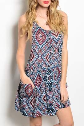 Andree Aztec Pockets Dress