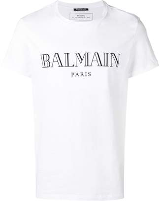cc89ab1c Balmain T Shirts For Men - ShopStyle UK
