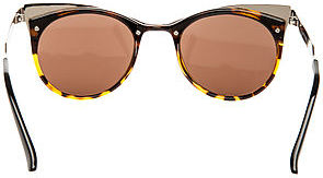 Spitfire Sunglasses The Anglo II Sunglasses in Silver and Tortoise
