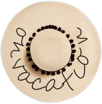 August Hats On Vacation Floppy Hat $54 thestylecure.com