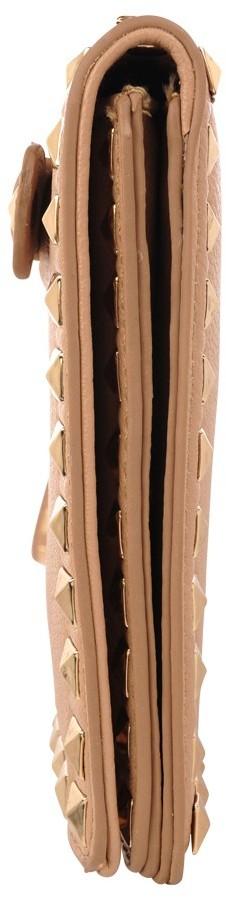 High Fashion Studded Wristlet