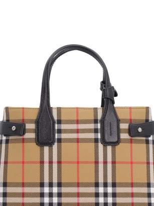 The Banner Vintage Check Handbag