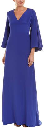 Derek Lam 10 Crosby Ruffle Silk Gown