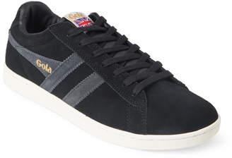 Gola Black & Graphite Equipe Suede Low-Top Sneakers
