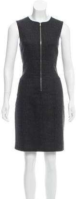 MICHAEL Michael Kors Wool Sleeveless Knee-Length Dress
