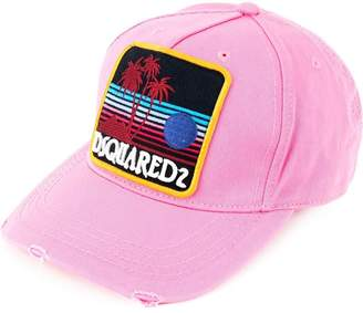 DSQUARED2 sunset patch baseball cap
