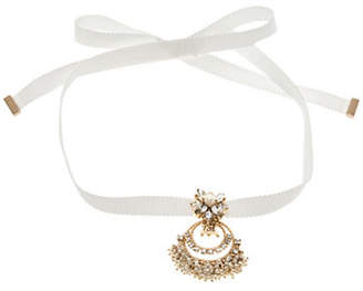 Marchesa Faux Pearl Choker Necklace