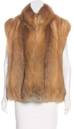Zip-Up Fur Vest