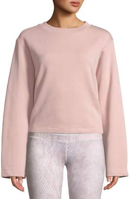 Varley Weymouth Tie-Back Cotton Sweatshirt
