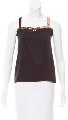 Lanvin Wool Embellished Top