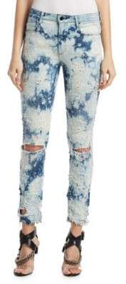 Alexander Wang Distressed Bleach Jeans