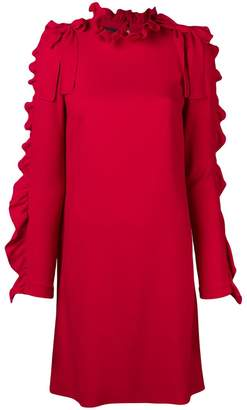 Giambattista Valli frill trim shift dress