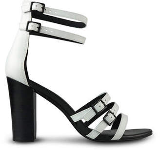 Wittner Ladies Shoes White Leather Heels