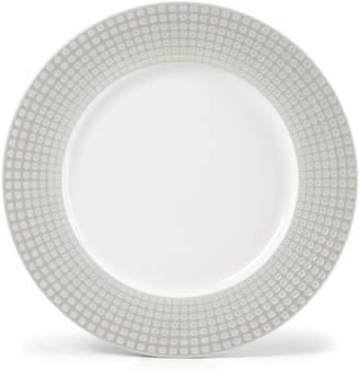 Mikasa Dinnerware, Crisscross Grey Round Platter