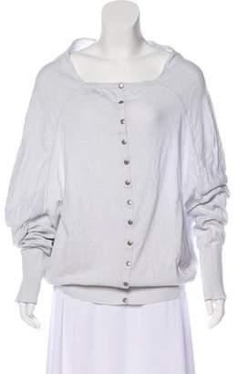 AllSaints Knit Long Sleeve Sweater