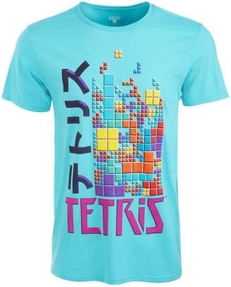 Ripple Junction Men Tetris Kanji Graphic T-Shirt