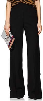 Proenza Schouler Women's Stretch-Wool Flare Trousers - Black