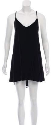 Reformation Velvet Mini Dress