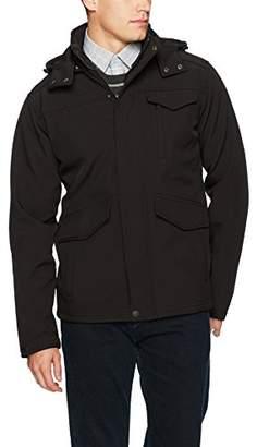 Ben Sherman Men's Hooded Softshell Outerwear Jacket