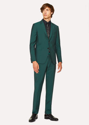 Paul Smith The Kensington - Men's Slim-Fit Dark Green Wool-Mohair Suit