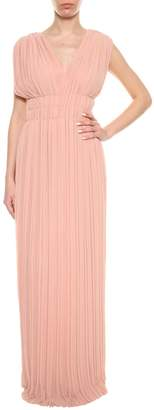 P.A.R.O.S.H. Pink Pleated Dress