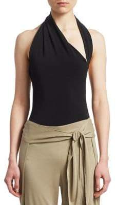 Halston Iconic Halter Bodysuit