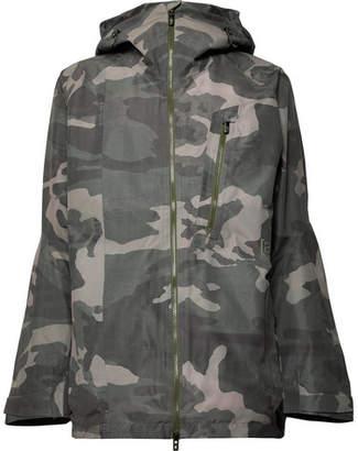 Burton Camouflage-Print Gore-Tex Ski Jacket