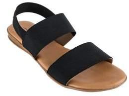 Andre Assous Nigella Elastic Flat Sandals