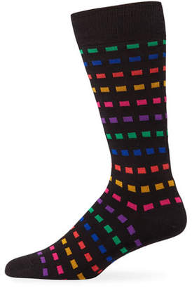 Paul Smith Men's Multi Grid Socks