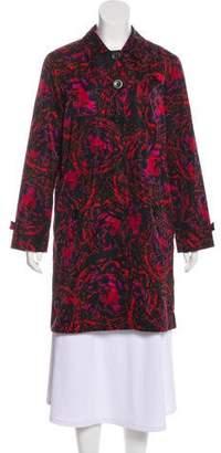 Thakoon Printed Knee-Length Coat