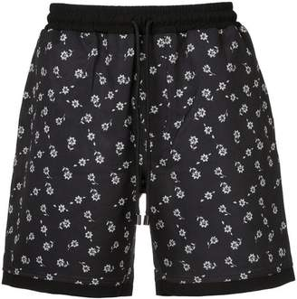 The Upside floral running shorts