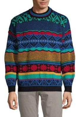 Eleven Paris Multicolored Crewneck Sweater