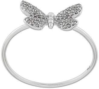 Astley Clarke Cinnabar Moth ring