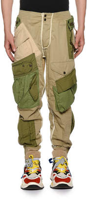 DSQUARED2 Men's Multi-Pocket Combat Cargo Pants