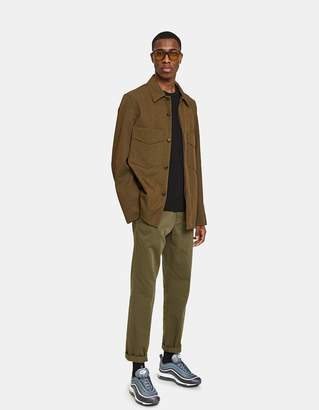 Acne Studios Maxwell Jacket in Mud Brown