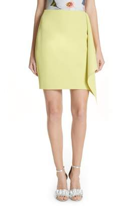 Ted Baker Asymmetrical Frill Pencil Skirt