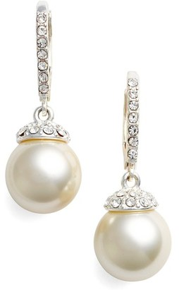 Women's Givenchy Imitation Pearl Drop Earrings $38 thestylecure.com