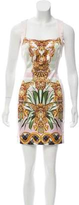 Just Cavalli Satin Bodycon Dress