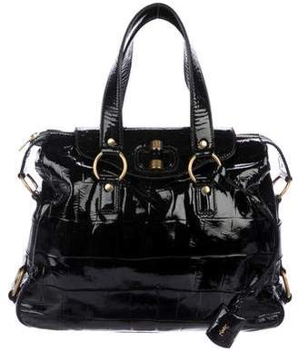 Saint Laurent Patent Muse Messenger Bag
