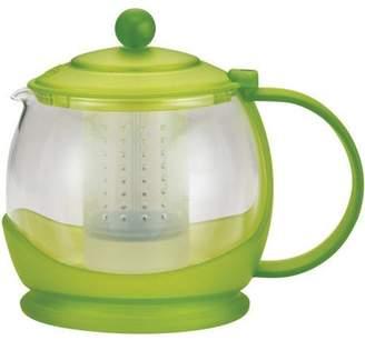 "Bonjour Tea ""Prosperity"" Borosilicate Glass Teapot with Plastic Frame, 42-Ounce, Multiple Colors"