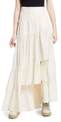 3.1 Phillip Lim Full Tiered Maxi Skirt