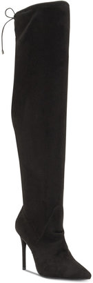 Jessica Simpson Lessy Over-The-Knee Dress Boots Women's Shoes $129 thestylecure.com