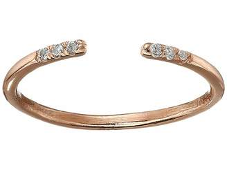 Shashi Ava Ring with Crystal Stones