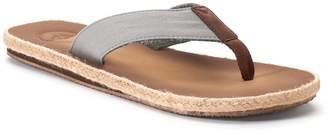 Dockers Men's Espadrille Flip-Flop Sandals