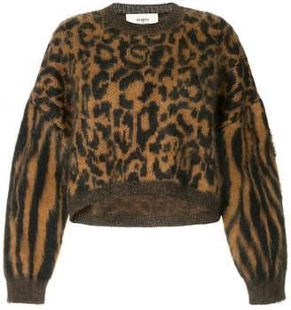 Ports 1961 leopard print jumper