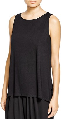 Eileen Fisher Boat Neck Tank $138 thestylecure.com